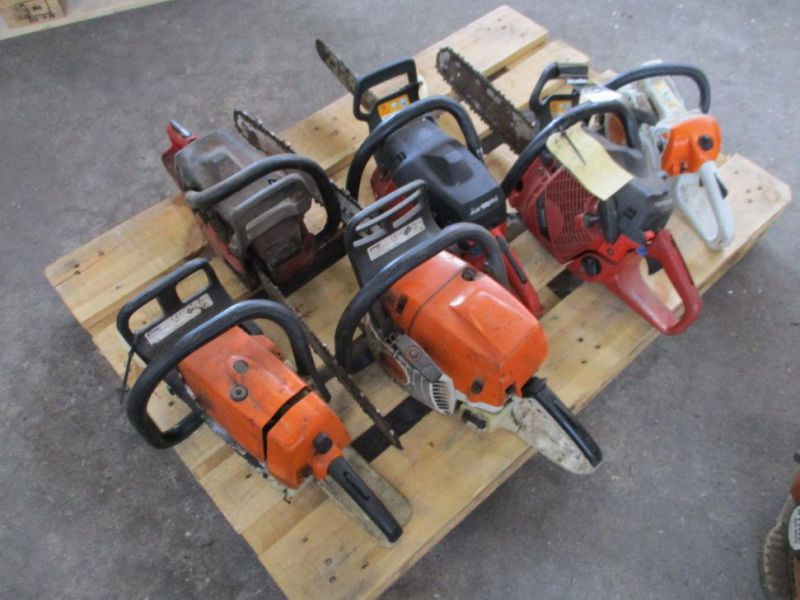 6 stk. Motorsave Still Jonsereds / 6 pcs. Chainsaws - 11
