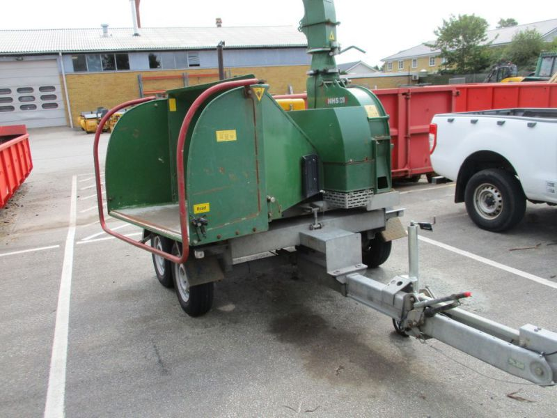 Flishugger NHS 220 MS med Hatz Dieselmotor./ wood chipper with diesel engine  - 0