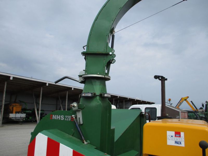 Flishugger NHS 220 MS med Hatz Dieselmotor./ wood chipper with diesel engine  - 5
