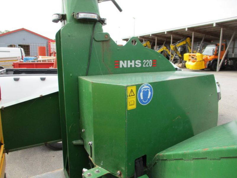 Flishugger NHS 220 MS med Hatz Dieselmotor./ wood chipper with diesel engine  - 14