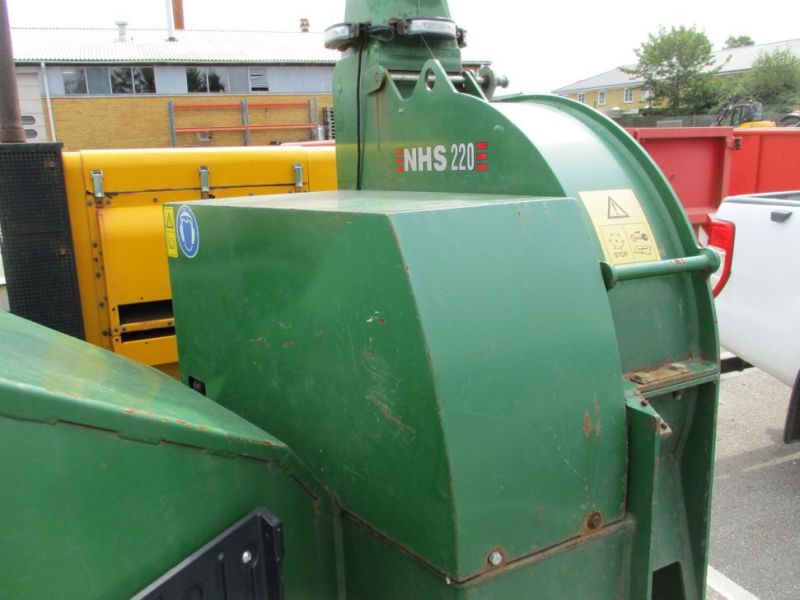 Flishugger NHS 220 MS med Hatz Dieselmotor./ wood chipper with diesel engine  - 24