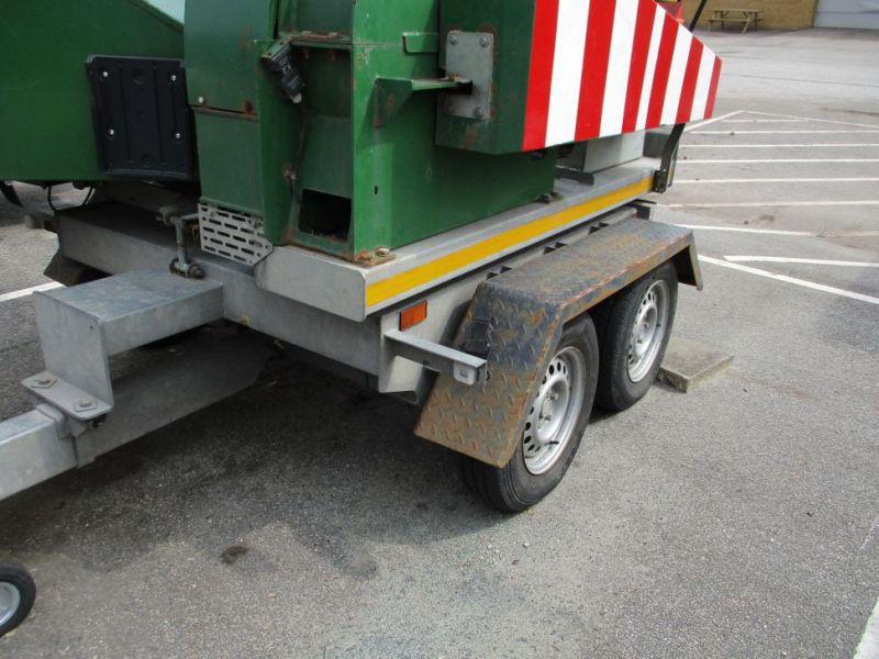 Flishugger NHS 220 MS med Hatz Dieselmotor./ wood chipper with diesel engine  - 28