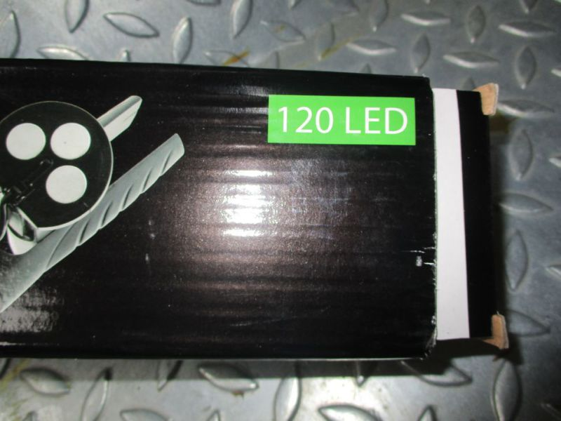 8 X LED ARBEJDSLYGTER 120 LED (NYE) / LED WORKING LIGHT - 8