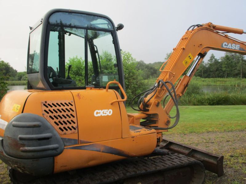 Case CX 50 Minigraver / mini excavator - 2