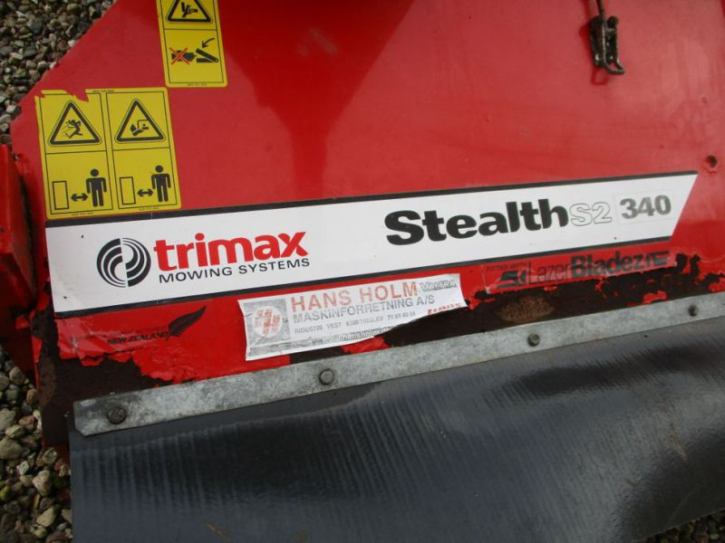 Trimax Stealth 340 rotorklipper / mower - 9