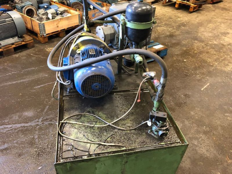 Hydraulpump med tank/Hydraulic pump with tank - 1
