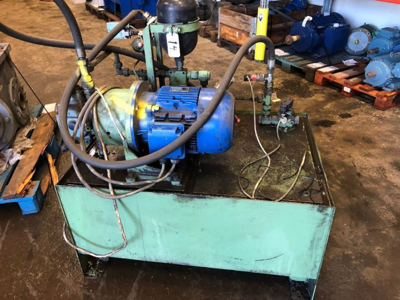 Hydraulpump med tank/Hydraulic pump with tank - 2