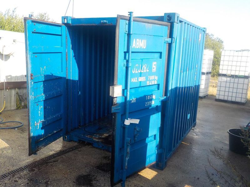 Container 8 fods - 2