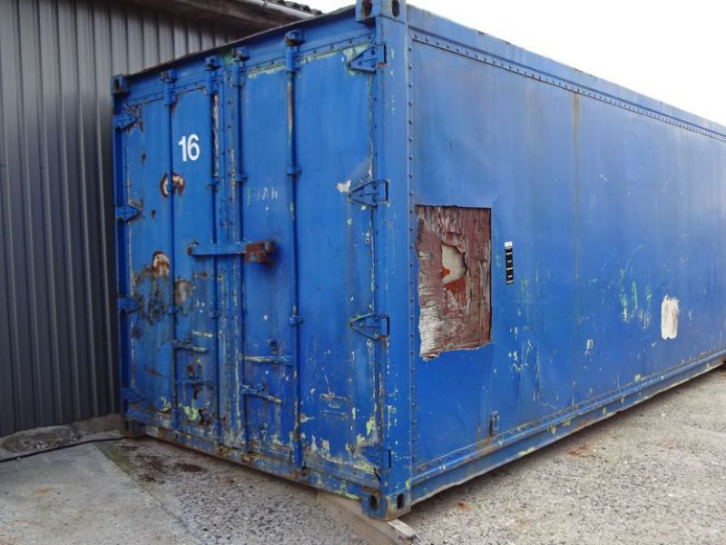 Isoleret skibscontainer / Insulated shipping container - 0