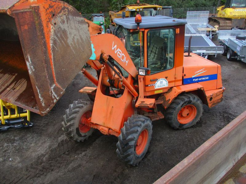 Fiat-Hitachi W80H Hjullæsser / Wheel Loader. - 1