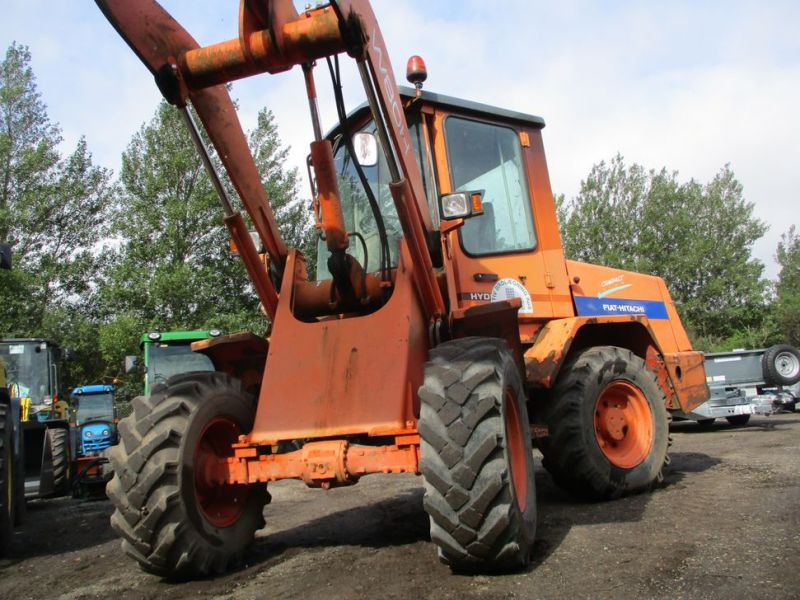 Fiat-Hitachi W80H Hjullæsser / Wheel Loader. - 4