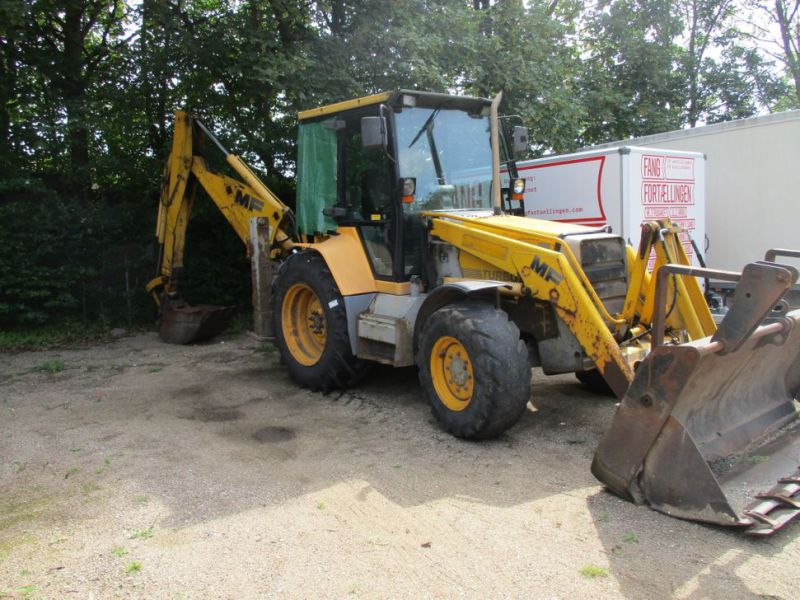 MF 860 Rendegraver / backhoe - 2