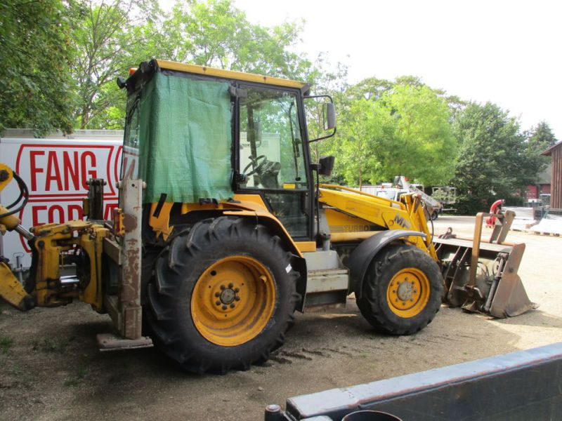 MF 860 Rendegraver / backhoe - 3