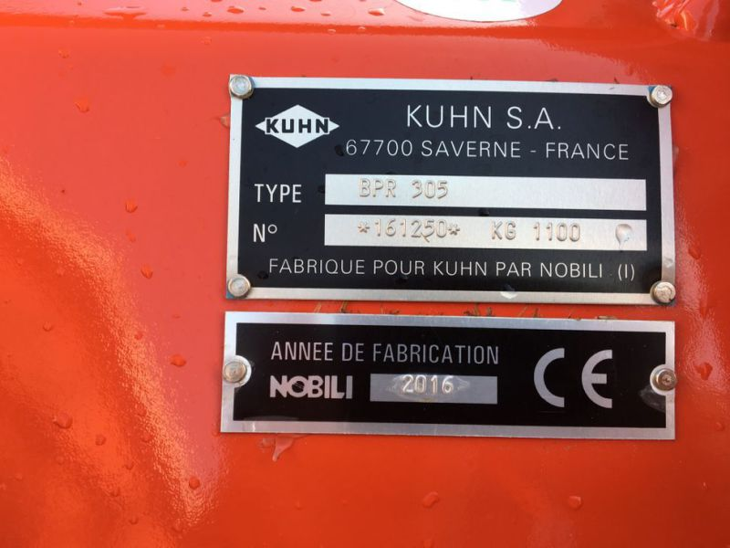 Kuhn BPR 305 Slagleklipper 2016 / Flailmower - 9