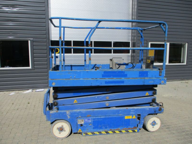 Sakselift X 26 - 10 meter arbejdshøjde / Scissor Lift 10 meter working height - 8