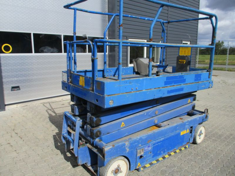 Sakselift X 26 - 10 meter arbejdshøjde / Scissor Lift 10 meter working height - 9
