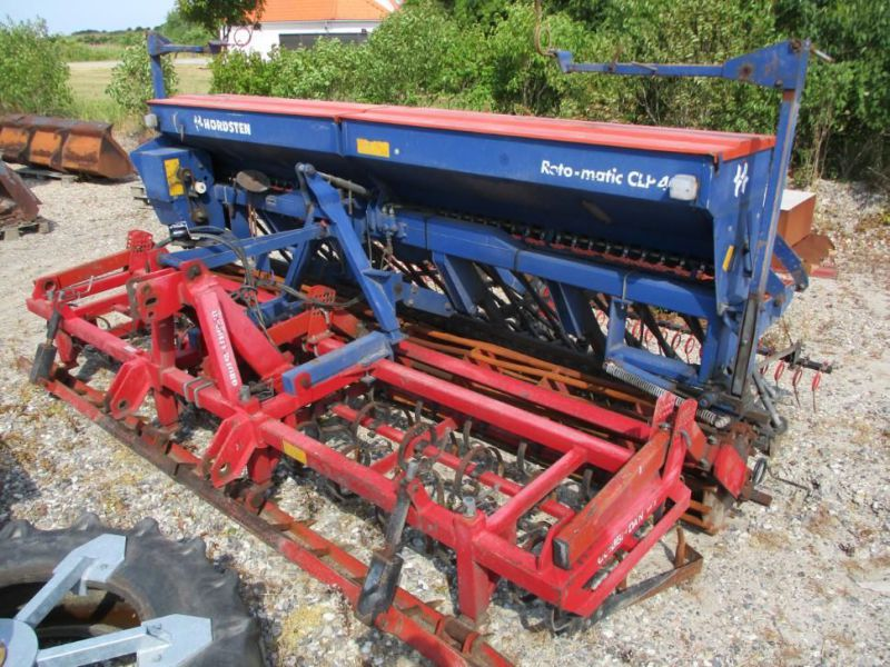 Såsæt 4 meter Nordsten CLP/Combi-dan harve / Seed drill combination 4 meters - 11