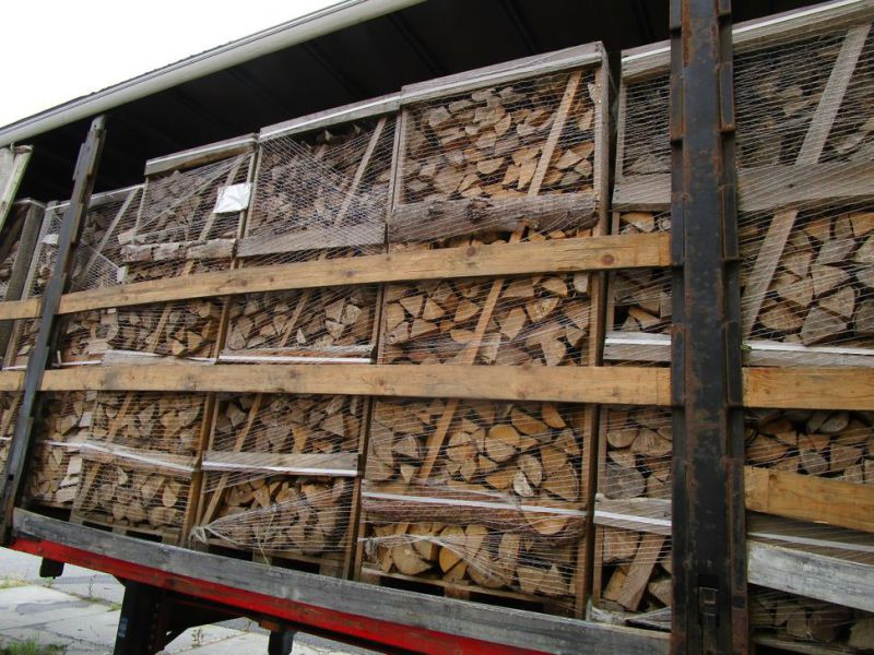 24 paller brænde ask - 24 pcs. firewwood ash - 2