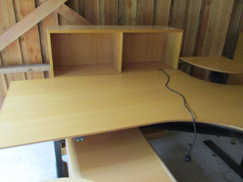 Kontormøbler, borde, stole, reoler / Office furniture, tables, chairs, shelves. - 7