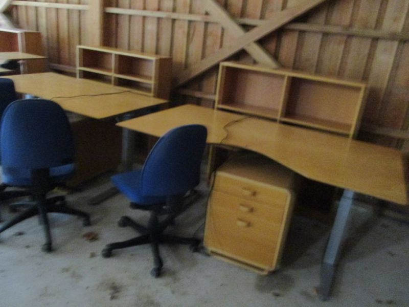 Kontormøbler, borde, stole, reoler / Office furniture, tables, chairs, shelves. - 11