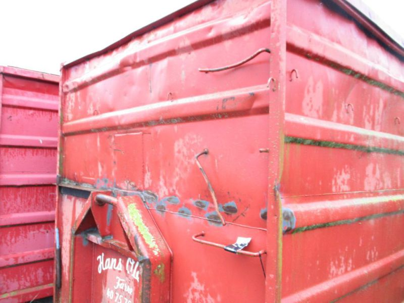 Container 36 M3 til Krog/wirehejs. / Container 36 M3 for Hook / wire hoist - 13