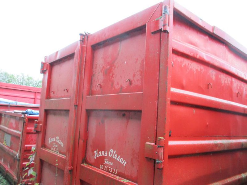Container 36 M3 til Krog/wirehejs. / Container 36 M3 for Hook / wire hoist - 23