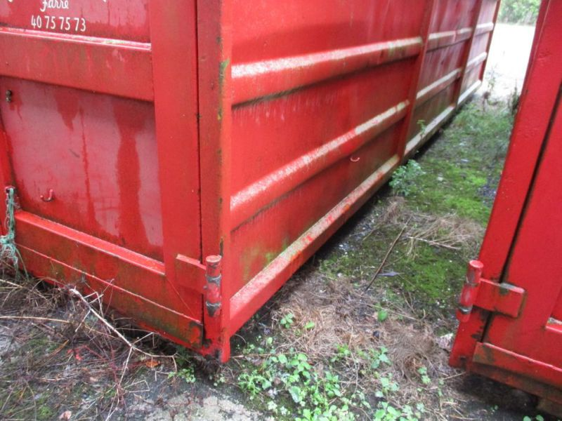 Container 36 M3 til Krog/wirehejs. / Container 36 M3 for Hook / wire hoist - 25