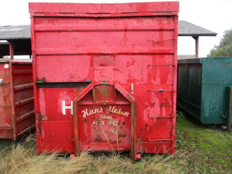 Container 36 M3 til Krog/wirehejs. / Container 36 M3 for Hook / wire hoist. - 1