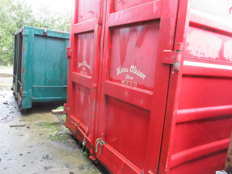 Container 36 M3 til Krog/wirehejs. / Container 36 M3 for Hook / wire hoist. - 17