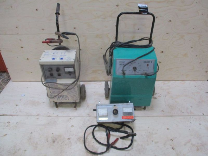 Svejser - ladeapparat - batteritester / Welder - Charger - Battery Tester - 0