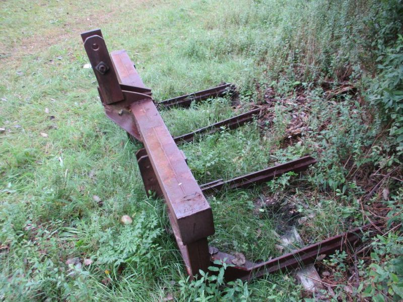 Kvas skubber 180 cm til traktor / Brushwood pusher for tractor - 5