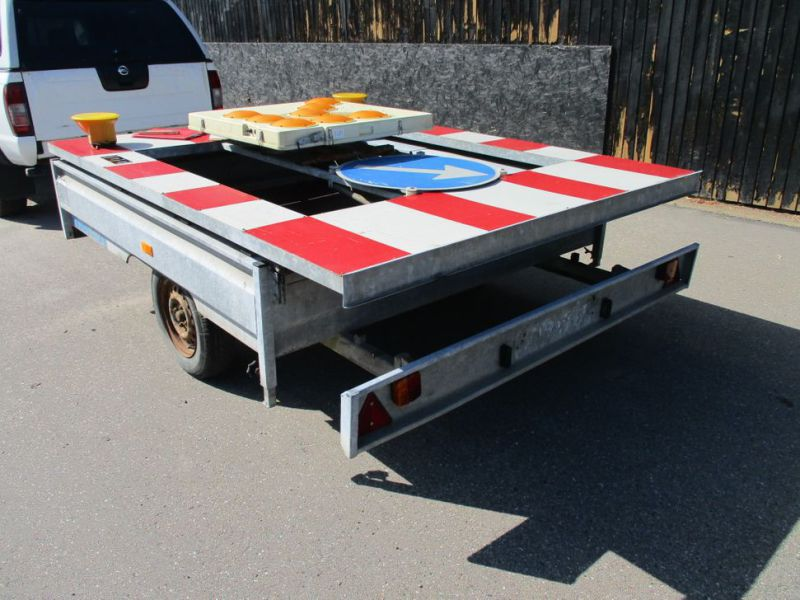 PMW signalvogn / signal trailer - 0