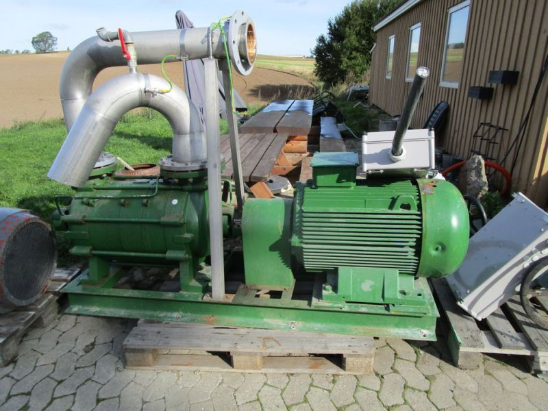 Dickow pumpe med 100 HK el motor / pump with 100 HP electric engine - 0