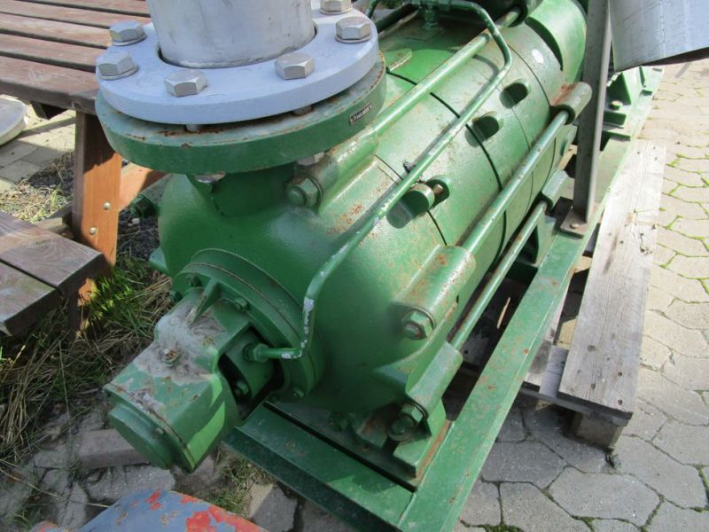 Dickow pumpe med 100 HK el motor / pump with 100 HP electric engine - 6
