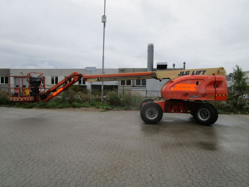 JLG 16 meter selvkørerne bomlift / self-propelled boom lift - 0