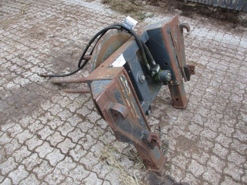 Ballespyd - hydraulisk roterende med Euro-beslag / Bale spear - hydraulically rotating with Euro bracket - 1