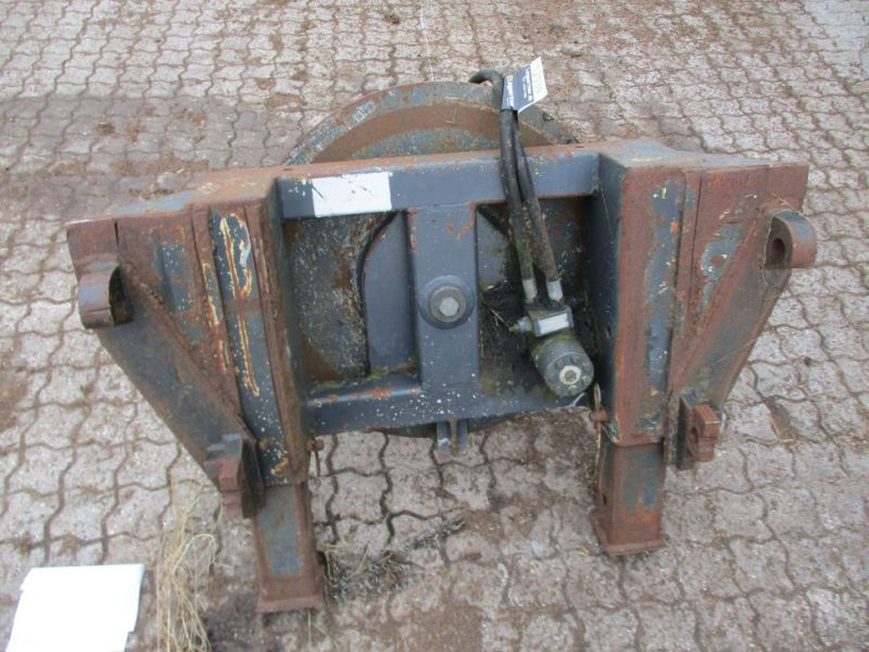 Ballespyd - hydraulisk roterende med Euro-beslag / Bale spear - hydraulically rotating with Euro bracket - 2