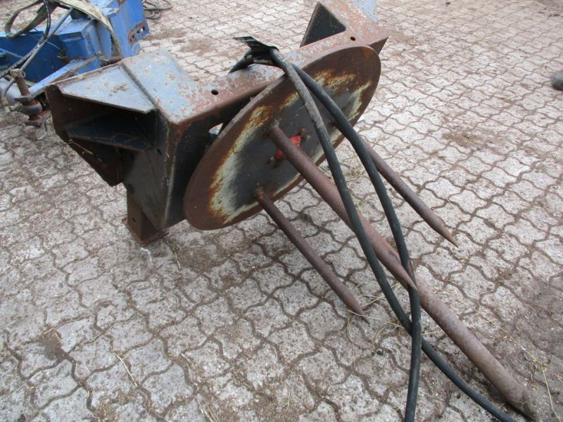 Ballespyd - hydraulisk roterende med Euro-beslag / Bale spear - hydraulically rotating with Euro bracket - 4