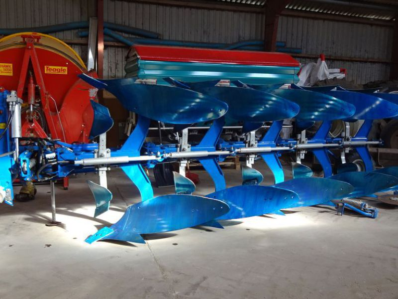 Øverum Vario-Flex vendeplov / Reversible Plough - 2