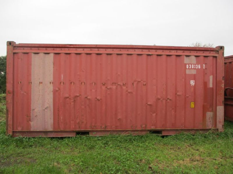 Container 20 fods med kroghejs / 20 feet with hook lift - 0