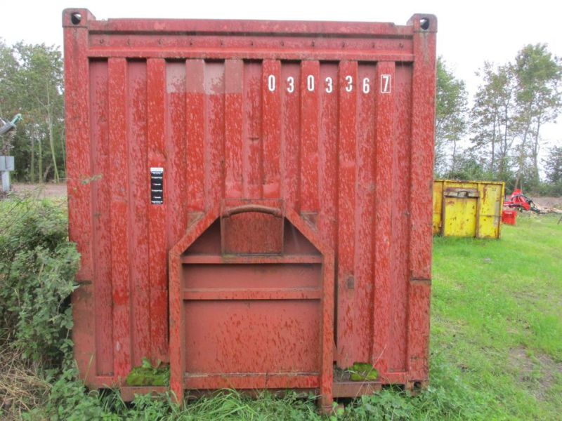 Container 20 fods med kroghejs / 20 feet with hook lift - 1