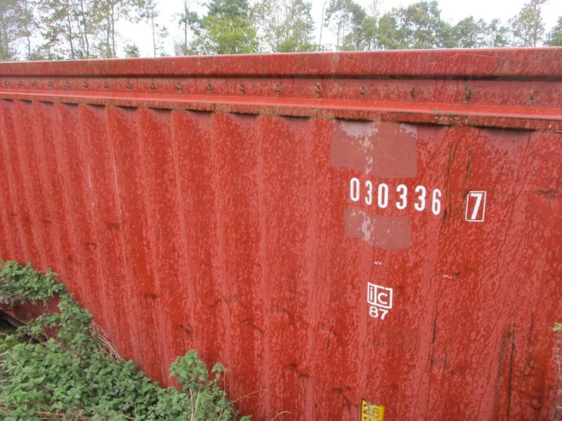 Container 20 fods med kroghejs / 20 feet with hook lift - 2