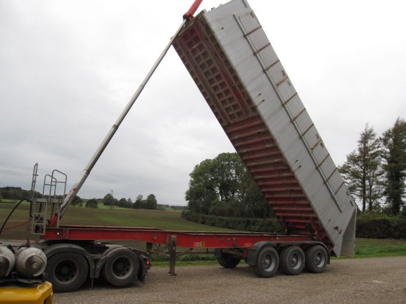 Tip trailer 3 akslet 48m3 / Semi trailer 3 axle tipper - 32