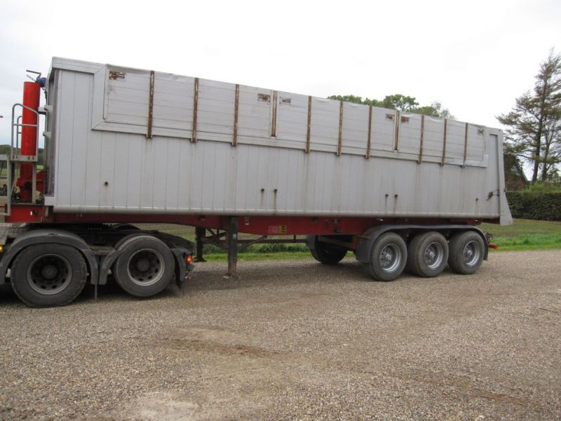 Tip trailer 3 akslet 48m3 / Semi trailer 3 axle tipper - 1