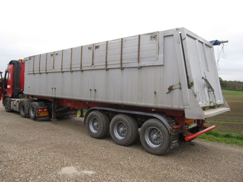 Tip trailer 3 akslet 48m3 / Semi trailer 3 axle tipper - 2