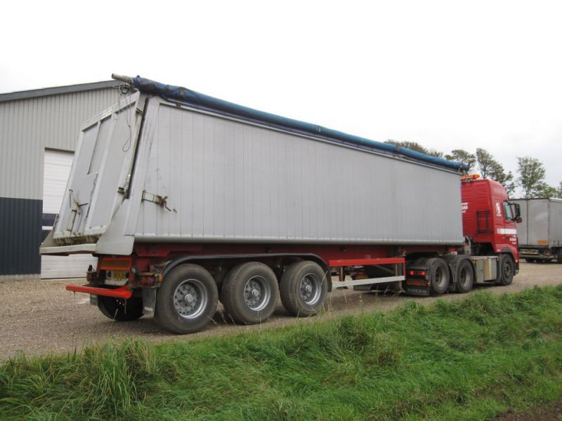 Tip trailer 3 akslet 48m3 / Semi trailer 3 axle tipper - 4