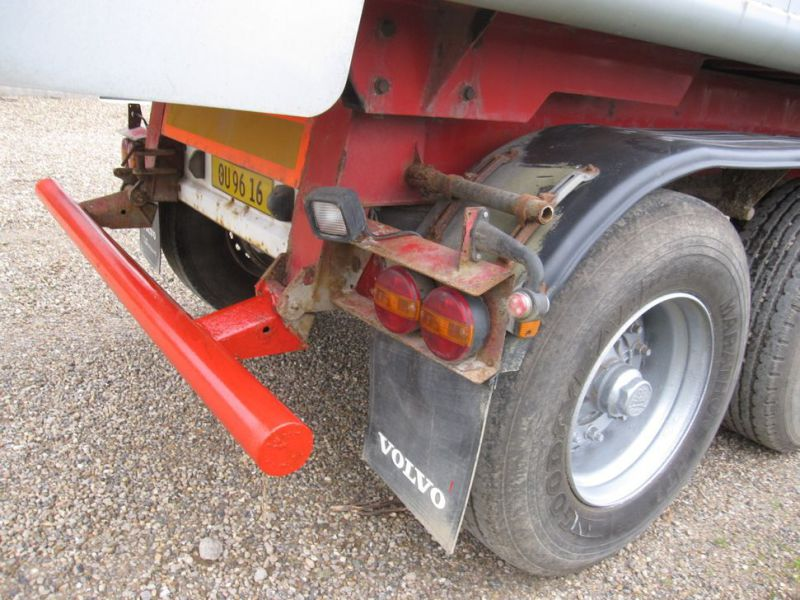 Tip trailer 3 akslet 48m3 / Semi trailer 3 axle tipper - 5
