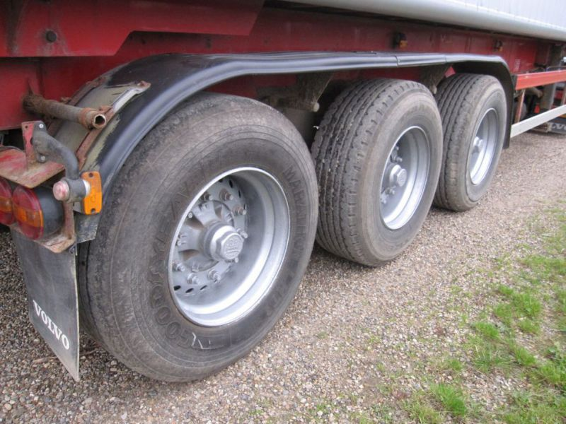 Tip trailer 3 akslet 48m3 / Semi trailer 3 axle tipper - 6