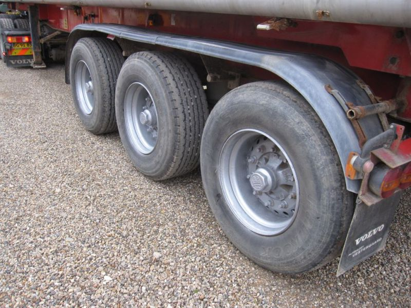 Tip trailer 3 akslet 48m3 / Semi trailer 3 axle tipper - 10
