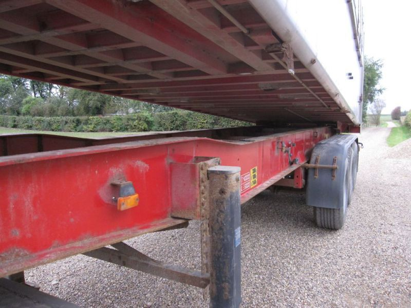 Tip trailer 3 akslet 48m3 / Semi trailer 3 axle tipper - 28